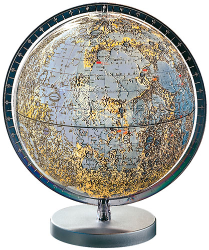 Moon Globe from Columbus.